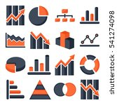 graphs and diagrams | Shutterstock .eps vector #541274098