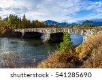 Beautiful Stone Bridge Enterin...