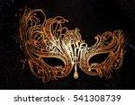 italian carnival venetian... | Shutterstock . vector #541308739