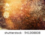 abstract holiday background  ... | Shutterstock . vector #541308838