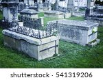 Ancient Tombs In A Cemetery ...