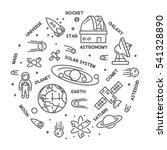 vector line design web concept... | Shutterstock .eps vector #541328890