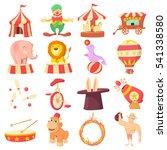 cartoon illustration of 16... | Shutterstock .eps vector #541338580
