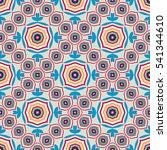 tribal geometric vector pattern.... | Shutterstock .eps vector #541344610