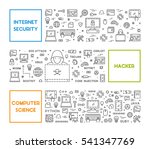 line design concept for... | Shutterstock .eps vector #541347769