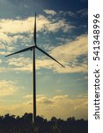 wind turbine | Shutterstock . vector #541348996