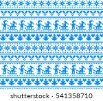 new year's christmas pattern... | Shutterstock .eps vector #541358710