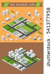 cityscape design elements with... | Shutterstock .eps vector #541377958