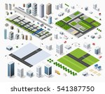 cityscape design elements with... | Shutterstock .eps vector #541387750