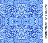seamless pattern with abstract...   Shutterstock . vector #541400890