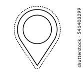 pin pointer location icon...