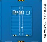 logistic transport business... | Shutterstock .eps vector #541418200