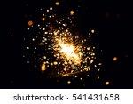 christmas sparkler   Shutterstock . vector #541431658