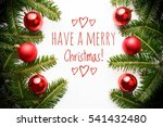 background with christmas... | Shutterstock . vector #541432480