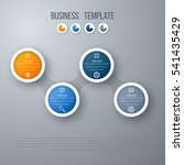 infographics timeline template...   Shutterstock .eps vector #541435429
