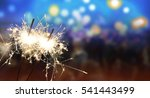 sparkler   new year   new year...   Shutterstock . vector #541443499