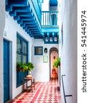 seville  spain  beautiful light ... | Shutterstock . vector #541445974