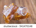 pieces of cannabis oil... | Shutterstock . vector #541470148