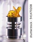 piece of cannabis oil... | Shutterstock . vector #541470208