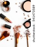 crushed decorative cosmetics... | Shutterstock . vector #541473589