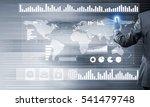 back view of businessman... | Shutterstock . vector #541479748