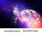 global network internet concept.... | Shutterstock . vector #541491196