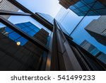 skyscrapers from a low angle... | Shutterstock . vector #541499233