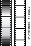 vector filmstrip. | Shutterstock .eps vector #5415019