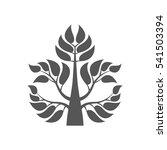 abstract foliate element. ... | Shutterstock .eps vector #541503394