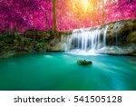 Beautiful Colorful Waterfall I...