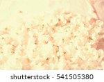 apple blossoms on paper closeup | Shutterstock . vector #541505380