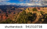 awesome rock formation in the... | Shutterstock . vector #541510738