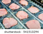 raw meat production | Shutterstock . vector #541513294