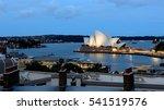 opera house in twilight  sydney   Shutterstock . vector #541519576