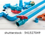 pvc pipe connections  pvc pipe...   Shutterstock . vector #541527049