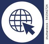 web icon vector flat design... | Shutterstock .eps vector #541542724