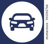 car icon vector flat design...