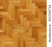 fragment of parquet floor | Shutterstock . vector #541544716