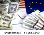 Concept Of Currency Exchange...