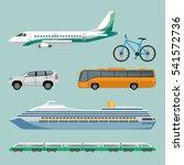 fast means of transportation... | Shutterstock .eps vector #541572736