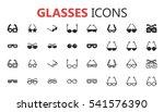 simple modern set of glasses...