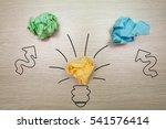 the concept  the idea of... | Shutterstock . vector #541576414