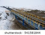 Small photo of Extraction of ore. belt conveyor