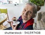 Senior Old Turkish Woman...