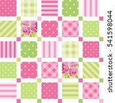 cute seamless vintage pattern... | Shutterstock .eps vector #541598044