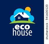 vector logo house | Shutterstock .eps vector #541600120