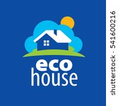 vector logo house | Shutterstock .eps vector #541600216