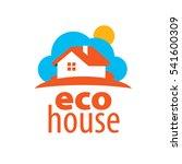 vector logo house   Shutterstock .eps vector #541600309