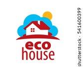 vector logo house   Shutterstock .eps vector #541600399