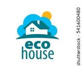 vector logo house | Shutterstock .eps vector #541600480